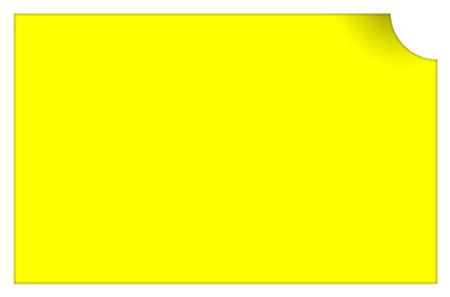 """Recycle Recycling Symbol Vinyl Decal Sticker / 10"""" X 10"""" (17 Light Yellow, Vinyl Type - Removable - Wall)"""