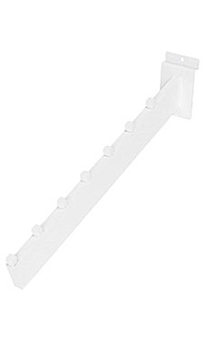 Dimensional Waterfall - White 7-Cube Dimensional Waterfall for Slatwall