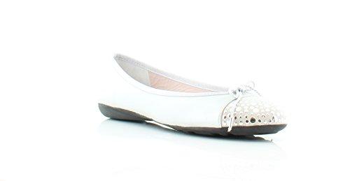 Paul Mayer Attitudes Brill Brighton Women's Flats & Oxfords Silver/Plata Size 9.5 M