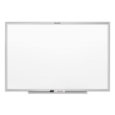 Classic Magnetic Whiteboard, 72 x 48, Silver Aluminum Frame, Sold as 1 Each by Quartet