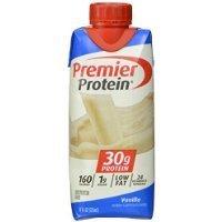 Premier Nutrition High Protein Shake, Vanilla, 11 oz.,18 ...