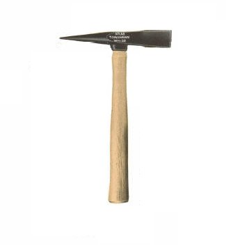 Atlas Long-Nek Tomahawk Chipping Hammer, Cone & Chisel, Hickory Handle