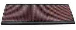 K&N ENGINEERING 33-2189 Air Filter; Panel; H-1.063 in.; L-6.938 in.; W-20.5 in.;
