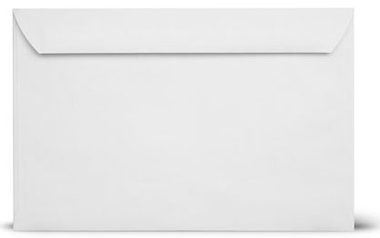 Envelopes Booklet Open Side Envelopes 50 White product image