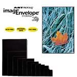 Itoya AE-11-17 Art Profolio Imagenvelope Storage With Polyglass 11x17in. Art Size CR by ITOYA