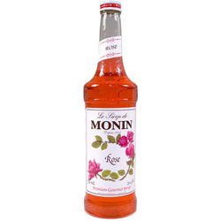 Monin Rose, 750 Ml (01-0159) Category: Cocktail Drink Mixes by Monin