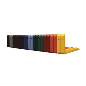 Backboard Pad, Red, 72 In, PK 2