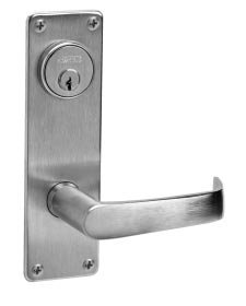Corbin Russwin ML2024-NSN Entrance/Storeroom Mortise Lock Newport Lever/Escutcheon Trim w/ ()
