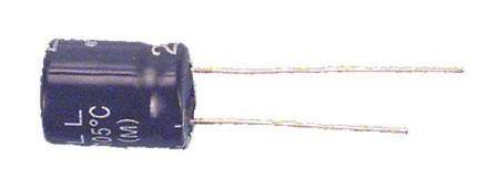 CAPACITOR 10V 330UF 105C HI TEMP,RADIAL (6.3D X 11L MM)