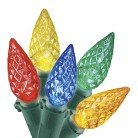 Philips 200ct Multi LED Faceted C6 String Christmas Lights