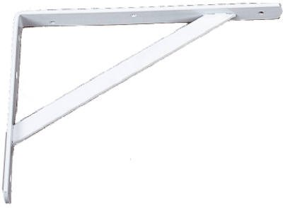 Knape & Vogt Bracket 22'' 5mm 3/4'' 1200 Lb Steel White