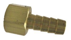 1/4'' Hose x 1/4'' Female NPT Brass Swivel Barb, (Package of 5)