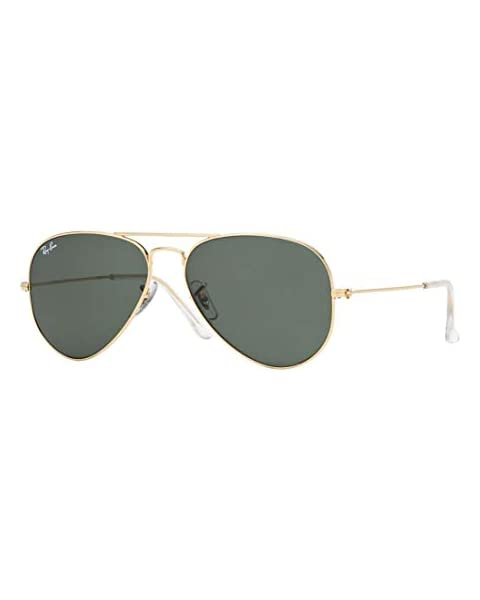 89aef14c92 Ray Ban RB3025 W3234 55M Gold Gray Green Aviator