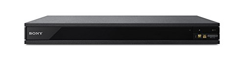 Sony UBP-X800 4K Ultra HD Blu-ray Player (2017 Model)