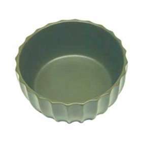 Vo Toy Ceramic - VO FLUTED CERAMIC BOWL 7 GRN