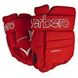 VERBERO Cypress 4-Roll Hockey Gloves (11 inch, Red)