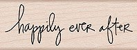- Hero Arts C4483 Mounted Rubber Stamp, Woodblock Stamp - Happily Ever After