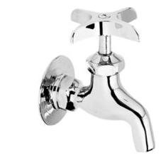 Elkay LK69CP Commercial Faucet, Service and Utility, Plain Outlet, Wall Mounted