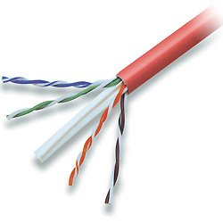 Red Belkin Cat6 Patch Cable 1000ft