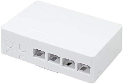 LogiLink FB1002 - Caja de conexión Indoor FTTH para 4 Fibres, 4 ...