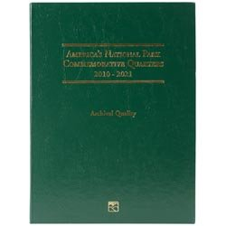 Bulk Buy: Littleton America The Beautiful Commemorative Quarter Folder 2010 2021 LCF39D (3-Pack)