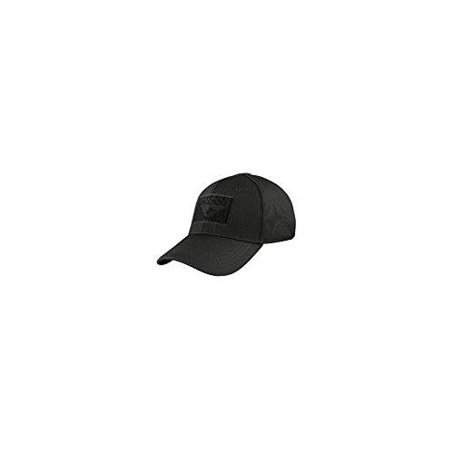 CONDOR Men's Outdoor Flex Tactical Cap (Black, L/XL)