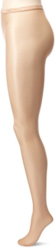 Capezio Women's Ultra Shimmery Tight, Light Toast, Large