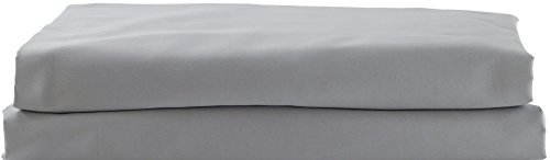 Hotel Sheets Direct 100% Egyptian Cotton 4 Piece Bed Sheet Set - Luxurious Sateen Weave - Ultimate Softness (Gray, Full)