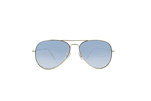 Buckler Sunglasses Fashion Polarized UV Protection Mirrored Lens Metal Frame John Lennon - Sunglasses Buckler