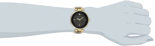 Anne Klein Women's AK/1414BKGB Diamond-Accented Bangle Watch by Anne Klein (Image #3)