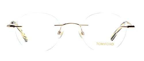 Eyeglasses Tom Ford FT5340/V 028 gold rimless frame - Tom Glasses Ford Rimless
