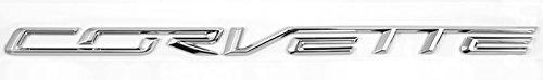 Rear Bumper Chrome Camaro (C7 Corvette Chrome Rear Trunk Bumper Brand Name Emblem)