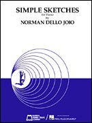 Read Online Norman Dello Joio: Simple Sketches for Piano (National Federation of Music Clubs - Very Difficult Class 2 Piano Solo) PDF ePub fb2 book
