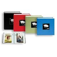 Pioneer Bi-Directional Cloth Frame Photo Album, Bright Cloth Covers, Holds 100 4x6