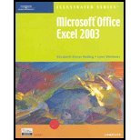 Microsoft Office Excel 2003 - Illustrated Complete, Reding, Elizabeth E. and Wermers, Lynn, 0619188057