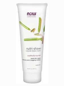 Now Foods Nutri-Shave Natural Shave Cream - 8 fl. oz. 6 Pack