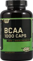 Optimum Nutrition BCAA 1000 Caps - 1000 mg - 200 Capsules