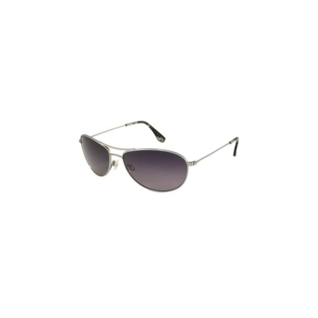 Maui Jim Sunglasses   Baby Beach / Frame Silver Lens
