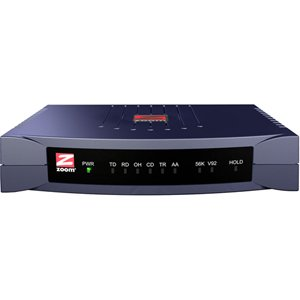 Zoom 3049 Data/Fax Modem  Serial  1 x RJ-11 Phone Line, 1 x RS-232 Serial  56 Kbps by Zoom (Image #1)