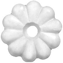 Mobile Home/RV Ceiling Rosette Buttons with Rosette Screws-250 Count