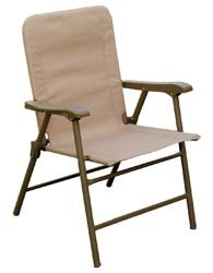 Prime Products 13-3346 Elite Arizona Tan Folding Chair