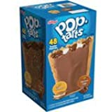 Kellogg's Pop-Tarts Frosted S'mores/Frosted Chocolate Fudge Toaster Pastries, 48 ct