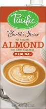 Pacific Barista Series Original Almond Beverage 32 Oz Pack of 12 by Pacific Natural Foods