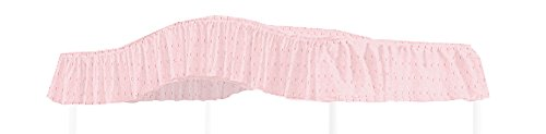 - The Furniture Cove Twin Size Fantasy Eyelet Bubblegum Pink Canopy Top Fabric - Perfect for your existing canopy frame!