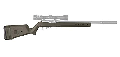 Magpul Hunter X-22 Stock for Ruger 10/22, Olive Drab Green (Best Ruger 10 22 Receiver)