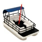 Boat Ornament - Pontoon Boat Ornament by Midwest-CBK