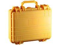 Xcase Koffer wasserdicht: Nachleuchtender dichter Koffer, wetterfest, 515 x 415 x 200 mm (Schutzkoffer)