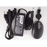 - Toshiba 19V 3.42A 65W Replacement AC adapter for Toshiba Satellite Notebook Model:L635-S9321D,PSK00U-0S502X, L635-S9322D,PSK00U-0S602X, L635-S9330D,PSK04U-07Y01H, L635-SP3160M,PSK00U-0FTTM4, L640-ST2N01,PSK0GU-0FT02C, L645-S4102,PSK0GU-0CT022. 100% compatible with Toshiba Part Number: PA3714U-1ACA, PA3467U-1ACA, PA3097U-1ACA, PA3396U-1ACA, PA-1650-21,PA3822U-1ACA, PA3468U-1ACA, PA3715U-1ACA, PA3165U-1ACA. *Free travel size USB optical mouse with retractable cord.*
