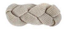 S Cloth Beige Winter Headwrap Crochet Knit Ear Twist Warmer Head Wrap Headband Women Hair Band