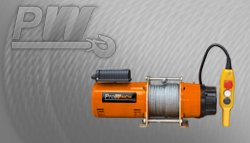PROWINCH - 660 lbs. Winch Light Duty 110~120V 60HZ 1 Phase